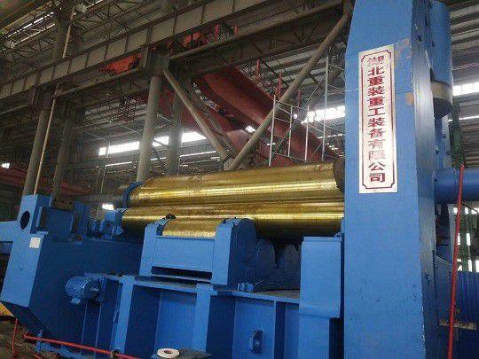 南京100/3200三辊卷板机